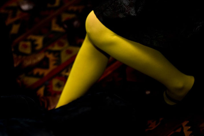 Yellow Stockings
