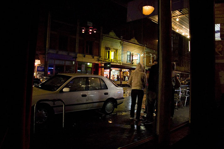Brunswick Street at Night